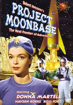 Project Moonbase (USA 1953) DVD Cover