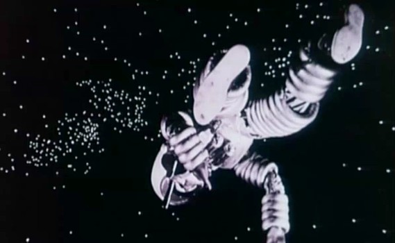 "Szenenfoto zu dem Film ""Assignment Outer Space"" (Space Men, Italien 1960) von Antonio Margheriti"