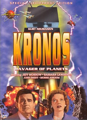 "DVD-Cover zu dem Film ""Kronos"" (USA 1957) von Kurt Neumann; Image Entertainment, Wade Williams Collection (2000)"