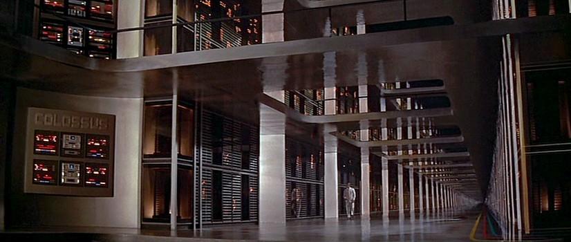 """Szenenfoto aus dem Film """"Colossus"""" (USA 1970) von Joseph Sargent"""