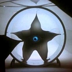 "Szenenfoto aus dem Film ""Warning from Space"" (Uchujin Tokyo ni arawaru, Japan 1956) von Koji Shima"