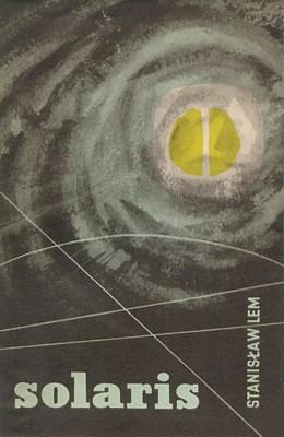 Stanislaw Lem, Solaris (1961), Buchcover der polnischen Erstausgabe