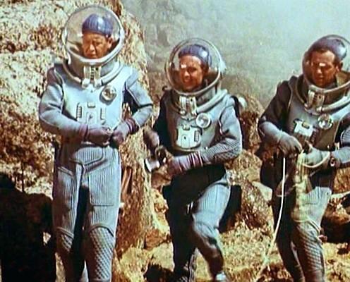"Szenenfoto aus dem Film ""Planet der Stürme"" (Planeta Bur, UdSSR 1962)"