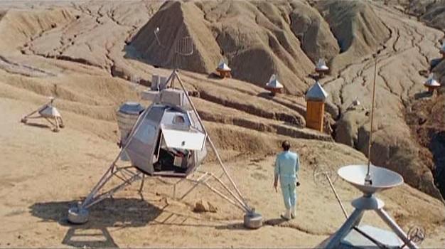 """Szenenfoto aus dem Film """"Im Staub der Sterne"""" (DDR/Rumänien 1976) von Gottfried Kolditz"""
