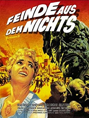 """DVD-Cover zu dem Film """"Feinde aus dem Nichts"""" (Quatermass 2, GB 1957) von Val Guest"""