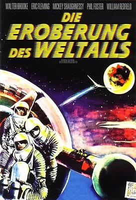 """DVD-Cover zum Film """"Die Eroberung des Weltraums"""" (Conquest of Space, USA 1955) von George Pal und Byron Haskin"""