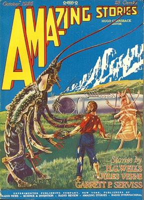 Amazing Stories, Ausgabe vom Oktober 1926