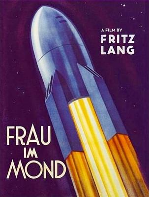 """DVD-Cover zu dem Film """"Frau im Mond"""" (Deutschland 1929) von Fritz Lang; Eureka Ausgabe"""