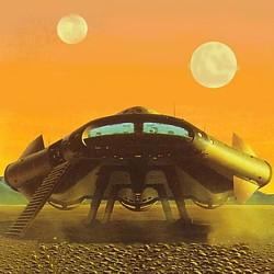 """Ausschnitt aus dem Buchcover vom """"Heyne Science Fiction Jahresband 1980"""""""