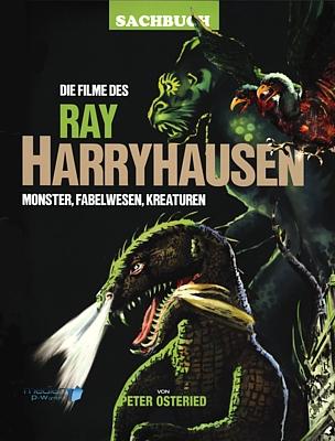 """Buchcover von Peter Osteried, """"Die Filme des Ray Harryhausen"""" (2019, Verlag MPW)"""