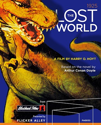 "Cover der Bluray-Ausgabe von ""The Lost World"" (USA 1925) von Flicker Alley (2017)"