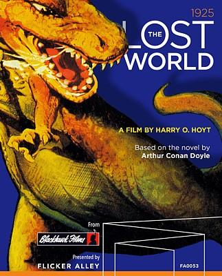 """Cover der Bluray-Ausgabe von """"The Lost World"""" (USA 1925) von Flicker Alley (2017)"""