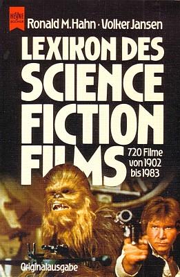 """Buchcover der Erstauflage 1983 von Ronald M. Hahn/Volker Jansen: """"Lexikon des Science Fiction Films"""""""