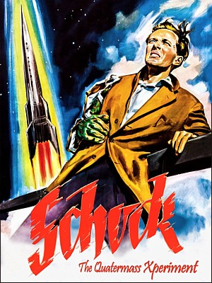 "Deutsches Bluray-Cover für den Film ""Schock"" (The Quatermass Xperiment, GB 1955) von Val Guest"