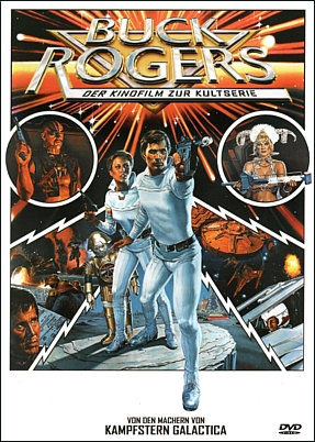 "DVD-Cover zu dem Film ""Buck Rogers"" (Buck Rogers in the 25th Century; USA 1979) von Daniel Haller"