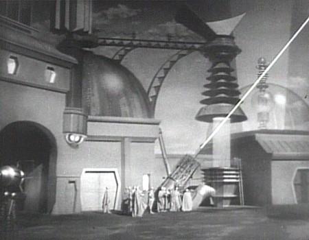 "Szenenfoto aus dem Kinoserial ""Flash Gordon's Trip to Mars"" (USA 1938)"