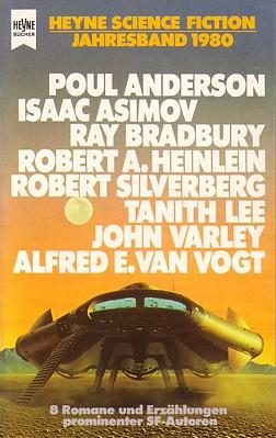 """Buchcover vom """"Heyne Science Fiction Jahresband 1980"""" von Wolfgang Jeschke (Hrsg.)"""