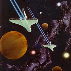"""Cover (Ausschnitt) der Anthologie """"Noch Leben auf Ka III?"""" (1983) von Thomas Le Blanc (Hrsg.)"""
