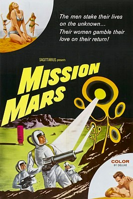 Film Endstation Mars (Mission Mars, USA 1968) Filmplakat