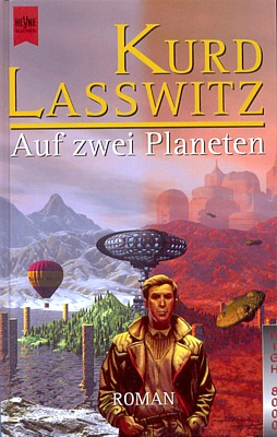 """Buchcover von Kurd Laßwitz, """"Auf zwei Planeten"""" (Heyne Verlag 1998)"""