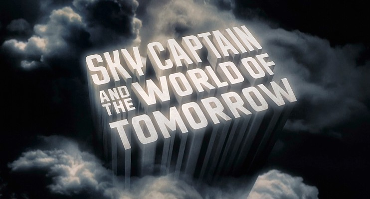 "Szenenfoto aus dem Film ""Sky Captain and the World of Tomorrow"" (USA 2004) von Kerry Conran"