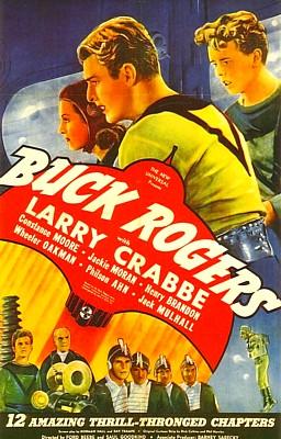 "Poster zum Kinoserial ""Buck Rogers"" (USA 1939)"
