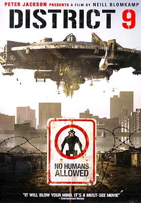 "DVD-Cover zum Film ""District 9"" (2009) von Neill Blomkamp"
