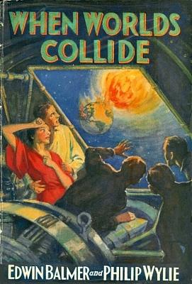 """Cover des Romans """"When Worlds Collide"""" von Edwin Balmer und Philip Wylie (Frederick A. Stokes Company 1933)"""