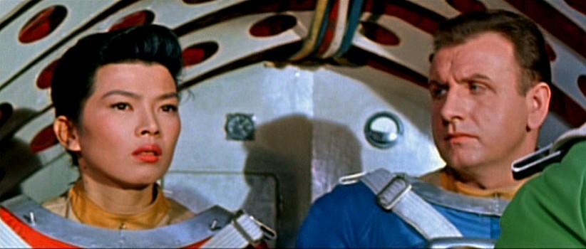 """Szenenfoto aus dem Film """"Der schweigende Stern"""" (DDR/Polen 1960) von Kurt Maetzig"""