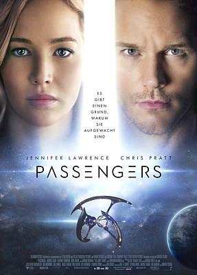 """Kinoplakat zu dem Film """"Passengers"""" (USA 2016) von Morten Tyldum"""