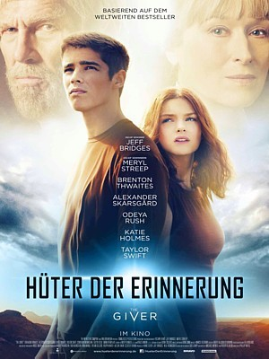 Hüter der Erinnerung (The Giver, USA 2014) Kinoplakat