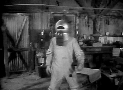 Phantom from Space (USA 1953) Szenenbild mit Dick Sands