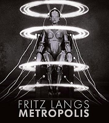Buchcover von Fritz Langs Metropolis (München 2010), herausgegeben von der Deutschen Kinemathek
