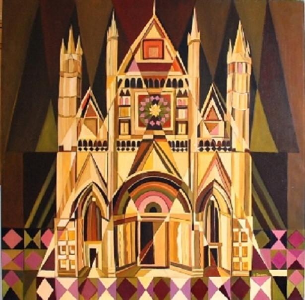 Duomo di Orvieto t.m. 90x90