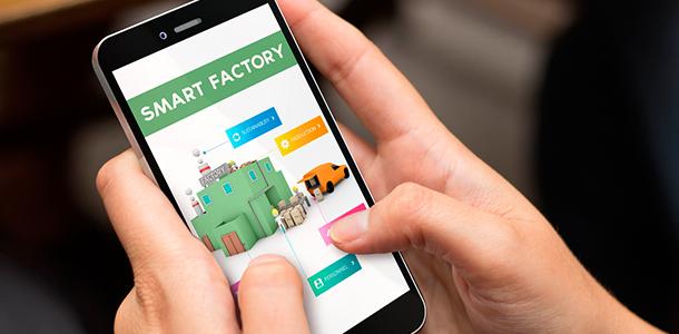 Smart Factory - intelligenter Gewerbebetrieb