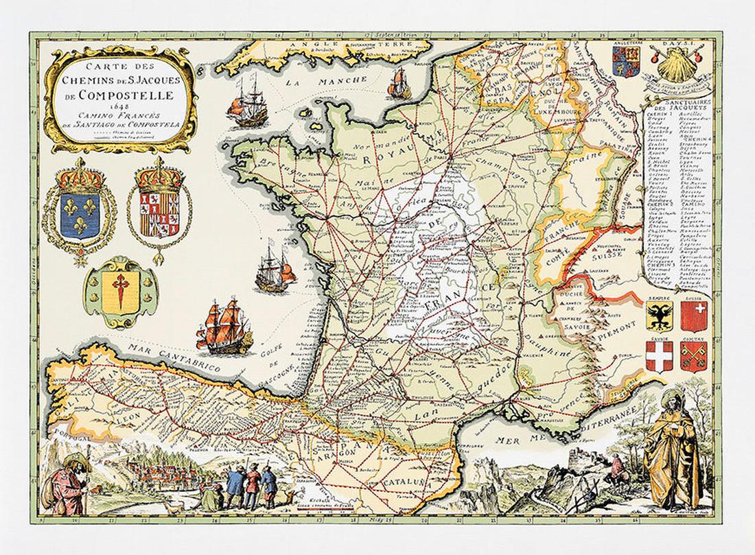 Jakobsweg Karte Deutschland.Jakobsweg Bewahrer Karten Auszeit Vom Alltag