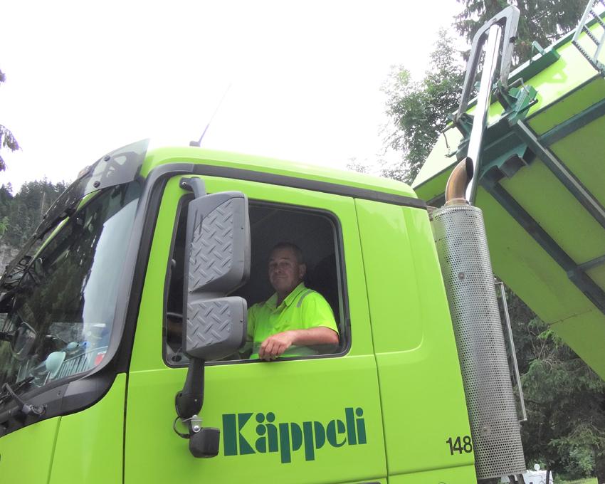 Johann Steiner, Lastwagenfahrer