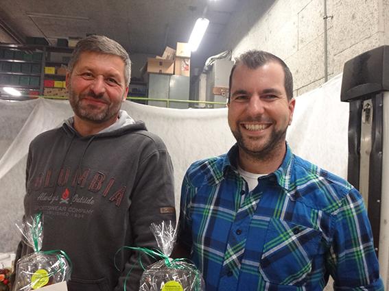15 Jahre: Markus Sifrig (l.) und Patrik Tonazzi (r.)