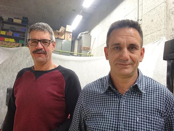 30 Jahre: Joe Weber (l.) und Milan Lazic (r.)