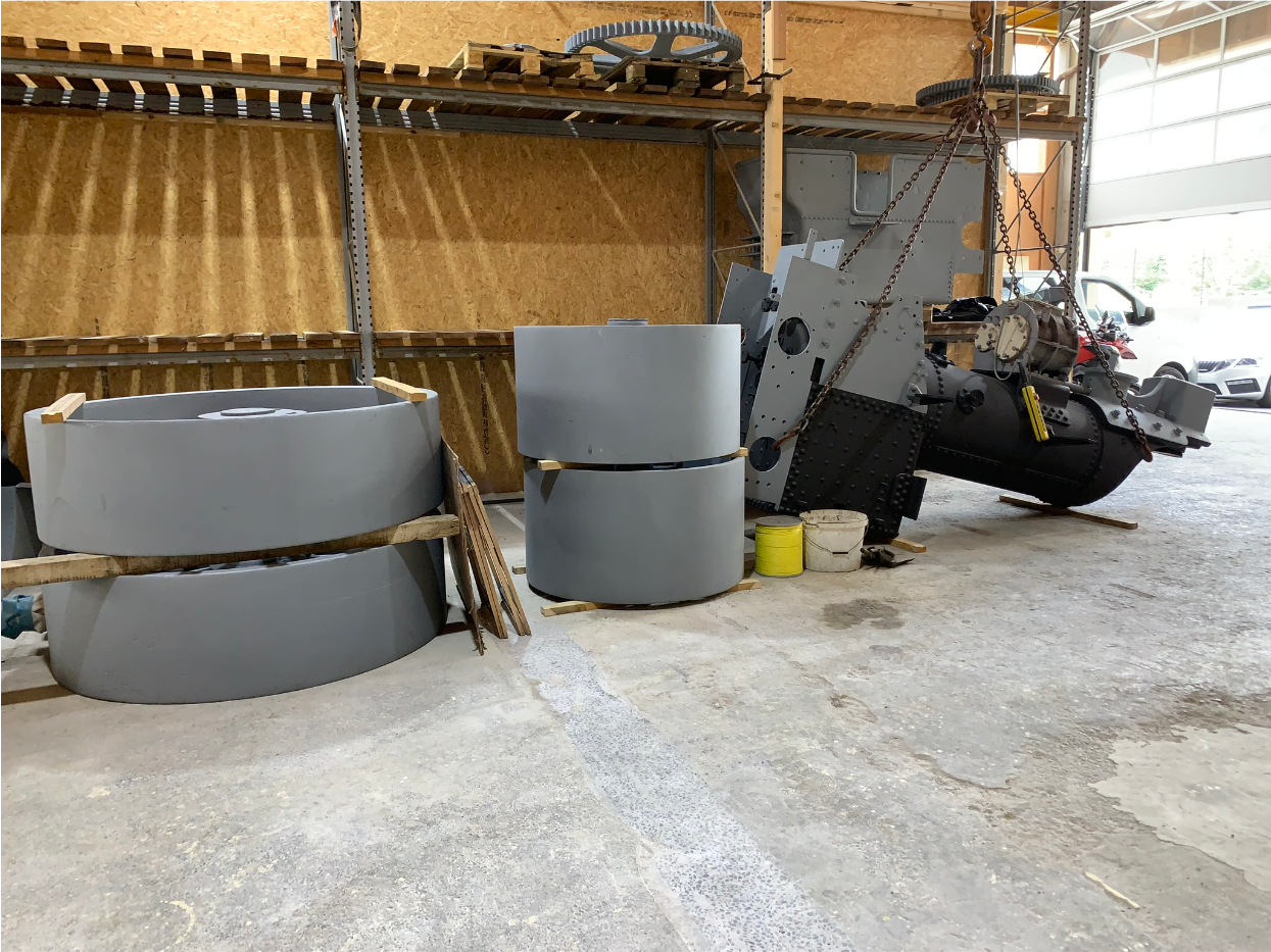 Weitere Arbeiten in Werkstatt Steinen