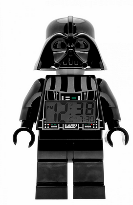 Star Wars Wecker Darth Vader Lego