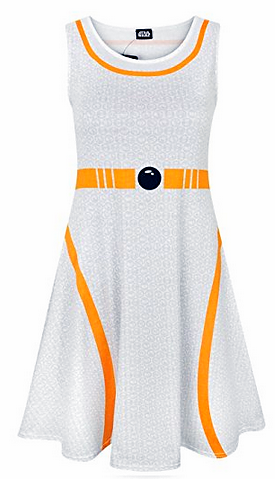 Star Wars Kleid BB-8