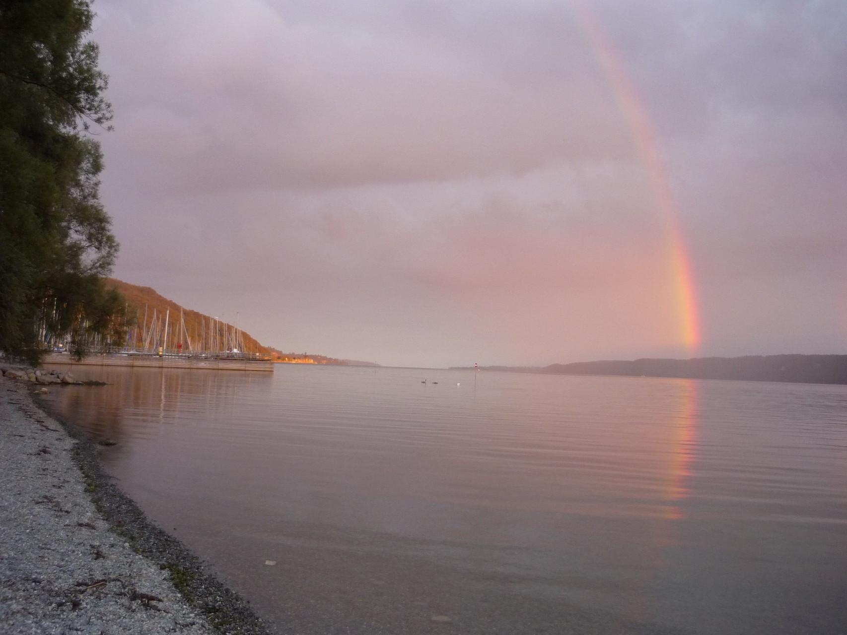 Sipplingen unter dem Regenbogen