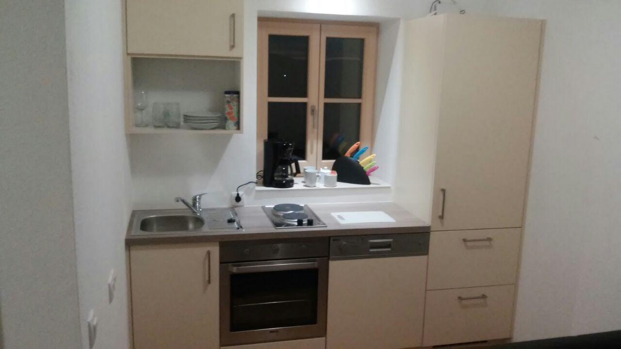 Appartement Zweigelt Küche