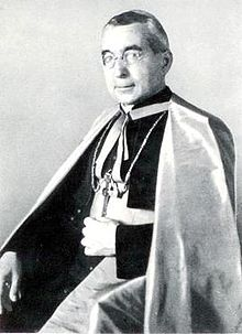 Obispo austriaco pronazi Alois Hudal o Luigi Hudal