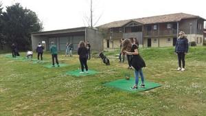 Golf scolaire à Guinlet