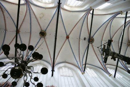 Deckengewölbe der Nicolaikirche