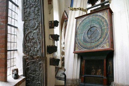 Das Astrolabium in der Nicolaikirche