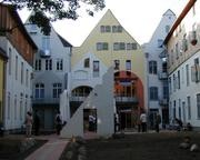 The gabled houses Frankenstrasse 31-33