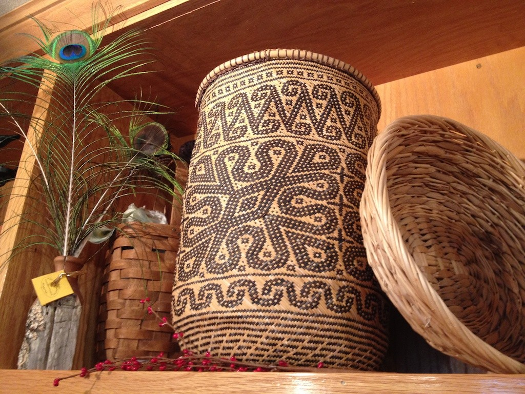 Baskets for inspiration Photo credit: Amy Mundinger